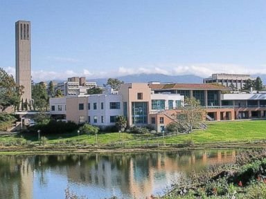 PHOTO: A general view of UC Santa Barbara campus that was post on the universitys Facebook page on Dec. 11, 2013.