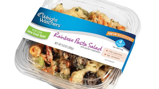 PHOTO:&nbsp;Weight Watchers Food product - pasta.