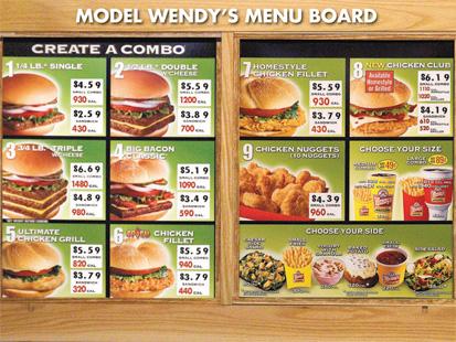 Dollar Meals Fast Food