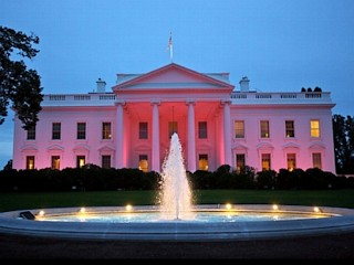 Photos: White House Turns Pink
