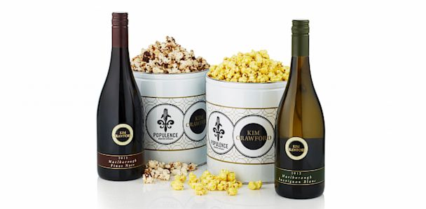 ht wine popcorn mi 130701 33x16 608 Wine Infused Popcorn Makes for a Boozy Movie Night Snack
