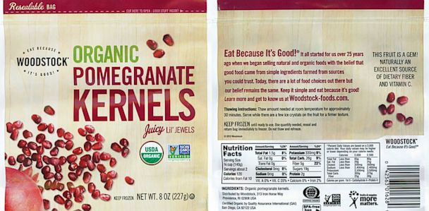 ht woodstock frozen organic pomegranate kernels ll 130627 33x16 608 More Frozen Berries Recalled Over Hepatitis Fears
