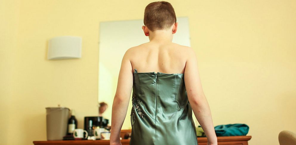 "PHOTO: A boy who enjoys wearing dresses can express himself freely at ""You Are You,"" a camp for non-gender conforming boys and their parents."