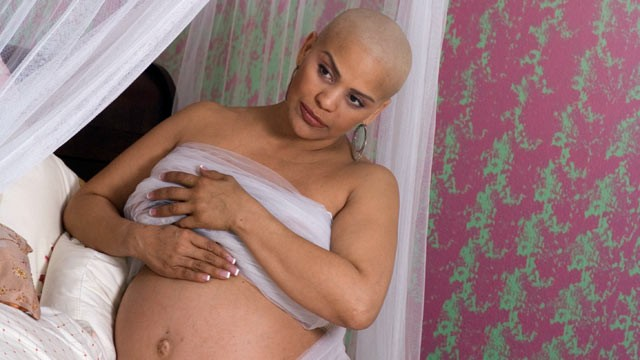 PHOTO: Zoila Leiva was four-and-a-half months pregnant with twins she found out she had breast cancer.