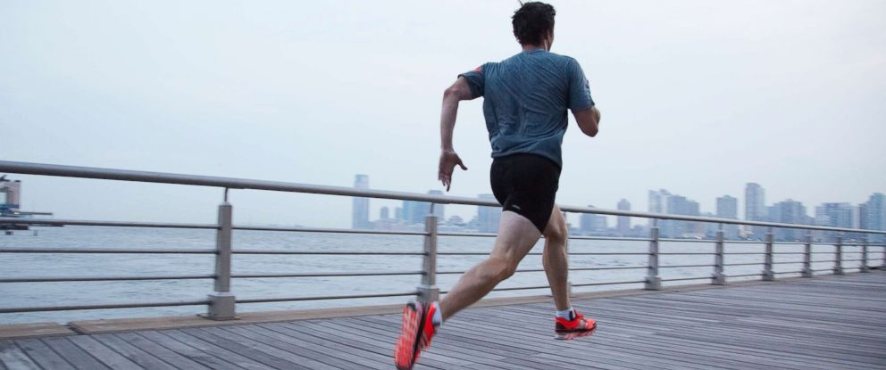 PHOTO: A man jogs in this undated stock photo.