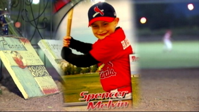 VIDEO: Spencer Melvin died before Little League game of an apparent heart condition.