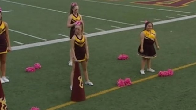 VIDEO: Texas school district had temporarily sidelined the honorary squad member for safety reasons.