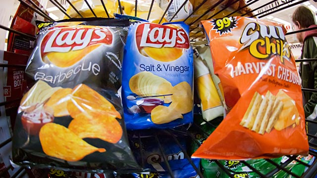 PHOTO: Frito-Lay snacks
