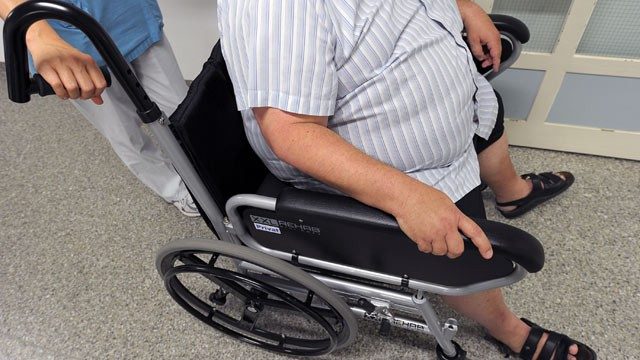 PHOTO: Wheelchair for the obese