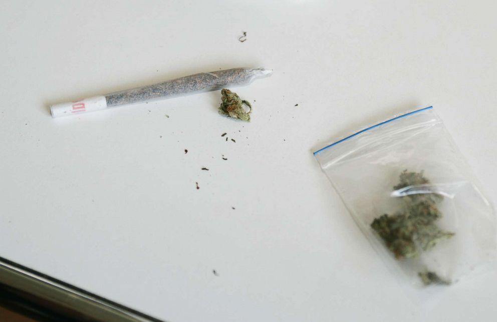 PHOTO: A marijuana joint.