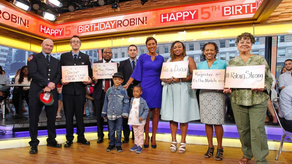 Robin Roberts celebrates 5th 'birthday' of bone marrow transplant