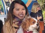 PHOTO: Ebola survivor Nina Pham is reunited with her dog Bentley at the Dallas Animal Services Center in Dallas, Nov. 1, 2014.