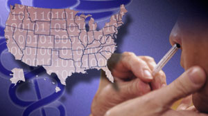 Photo: Best and worst states for swine flu info online