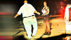 Photo: Too Fat for Field Sobriety Tests