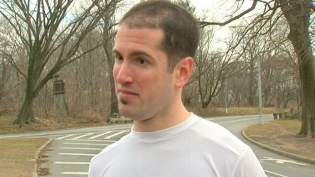 VIDEO: Bryan Steinhauer prepares for New York City half-marathon five years after attack left him comatose.