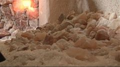 VIDEO: The man-made salt cave in Maryland is composed of 22 tons of Himalayan rock crystals.