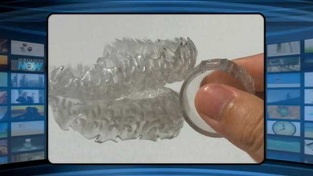 VIDEO: Blizzident toothbrush includes bristles which are tailored to an individuals mouth.