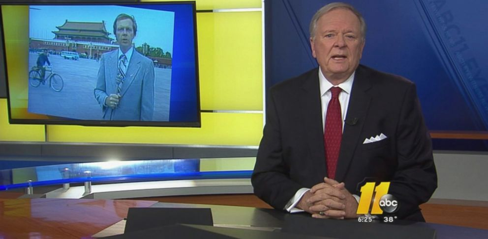 PHOTO: Longtime ABC 11 anchor Larry Stogner retired following a diagnosis of ALS.
