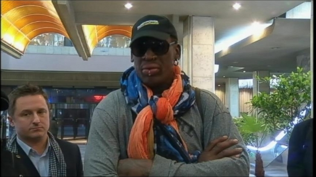 Watch: U.S Not Expecting Much Diplomatically from Denis Rodman's Trip to North Korea