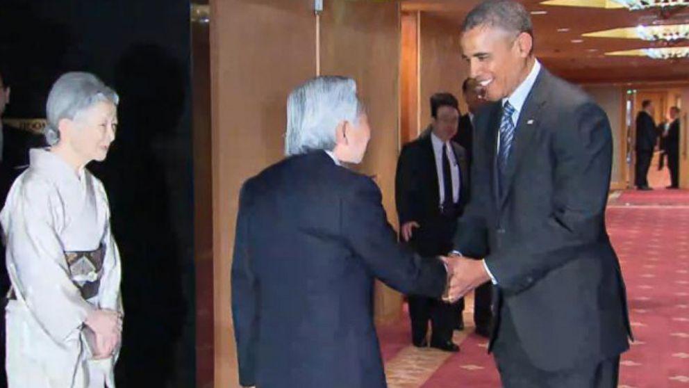 VIDEO: President Obama Calls Mt. Fuji-Shaped Ice Cream Delicious