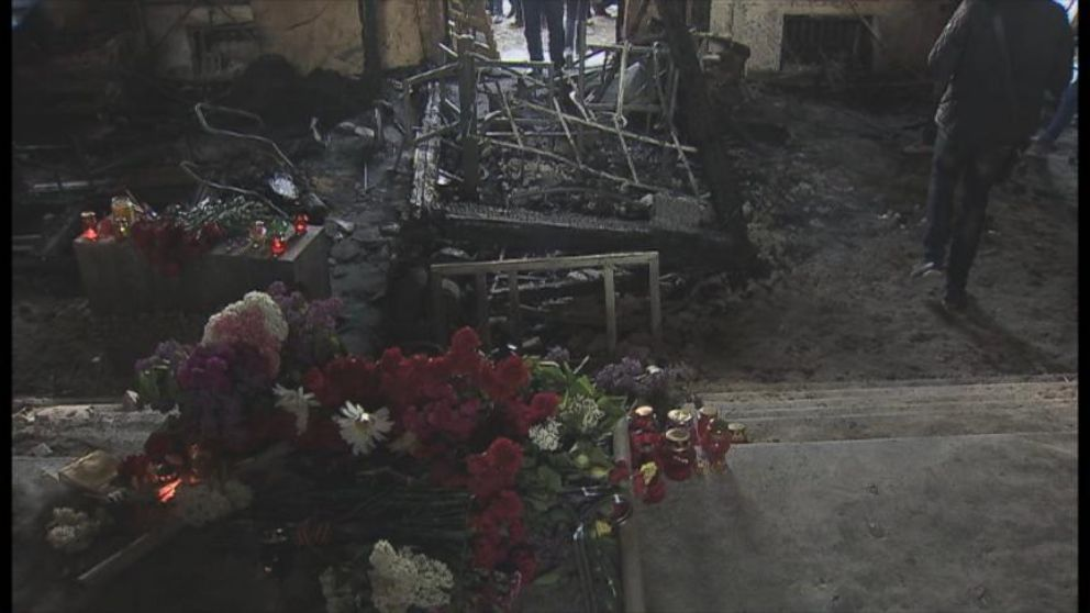 VIDEO: Inside the Aftermath of the Odessa, Ukraine, Fire
