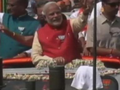 VIDEO: New Prime Minister Wins in Landslide Indian Election