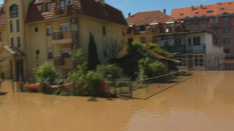 VIDEO: See the Devastation that Caused at Least 35,000 to Be Evacuated in Serbia