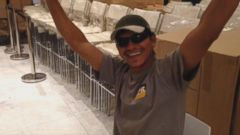 VIDEO: Arena Workers Get Ready for 20147 World Cup
