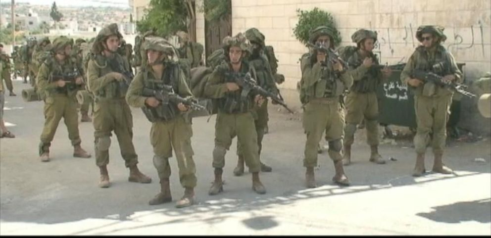 VIDEO: Inside Army Search for Missing Israeli Teens in West Bank