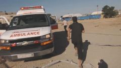 VIDEO: Go Inside Ambulance Trying to Save Air Strike Victims in Gaza