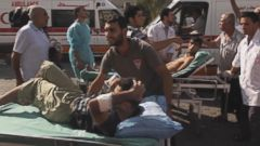 VIDEO: Gaza Hospital Struggles Under Israeli Bombardment