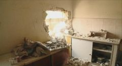VIDEO: Mortar Blasts Hole Through Familys Kitchen in Israel