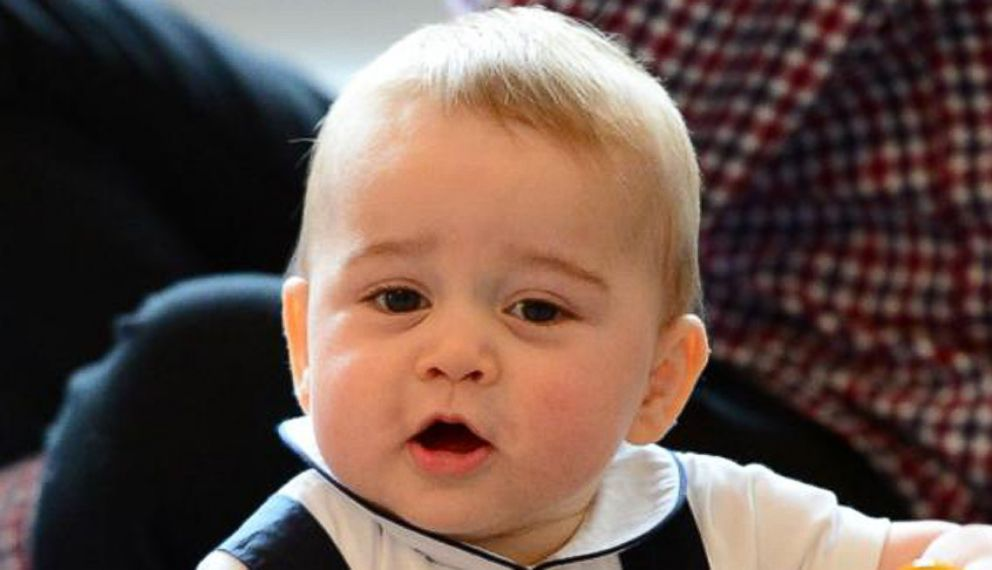 royal baby prince george turns one year old video   abc news