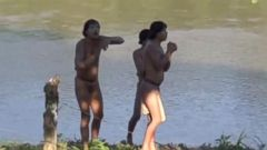 VIDEO: Isolated Amazon Tribe Makes First Contact with Outside World