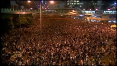 VIDEO: Thousands of Students in Hong Kong Rally in Pro-Democracy Protests