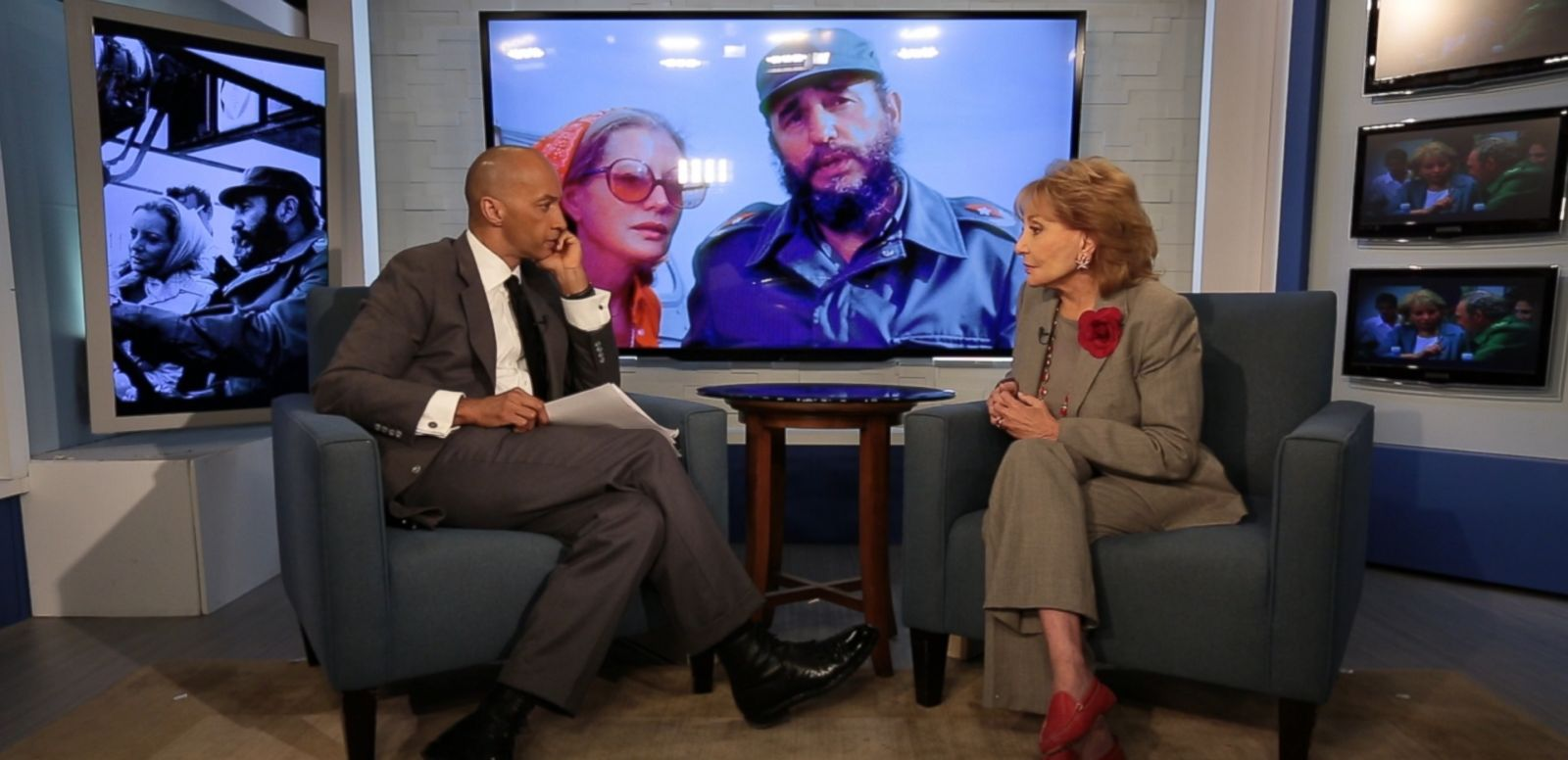 VIDEO: Barbara Walters on Her Unforgettable Interview with Fidel Castro