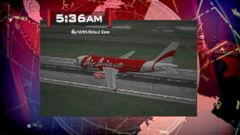 VIDEO: The jetliner took off from Indonesias Surabaya Airport on Sunday