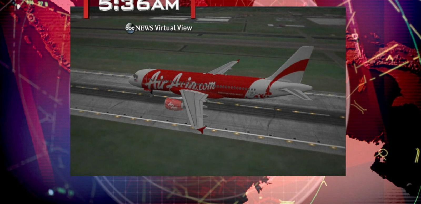 VIDEO: The jetliner took off from Indonesia's Surabaya Airport on Sunday