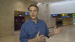 VIDEO: Solemn Scene at Singapore Airport