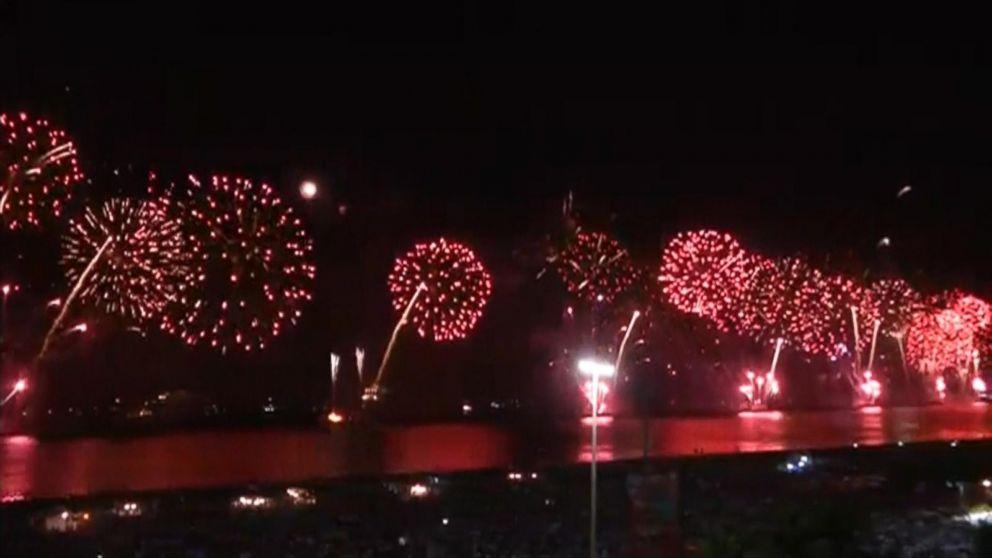 New Years Celebration in Rio de Janeiro