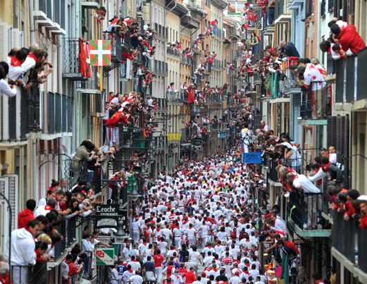 Running of the Bulls Leaves 6 Hurt