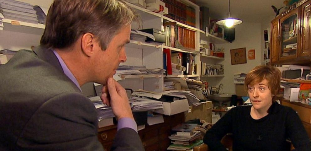 ABC News Terry Moran speaks to the widow of a cartoonist from Charlie Hebdo.