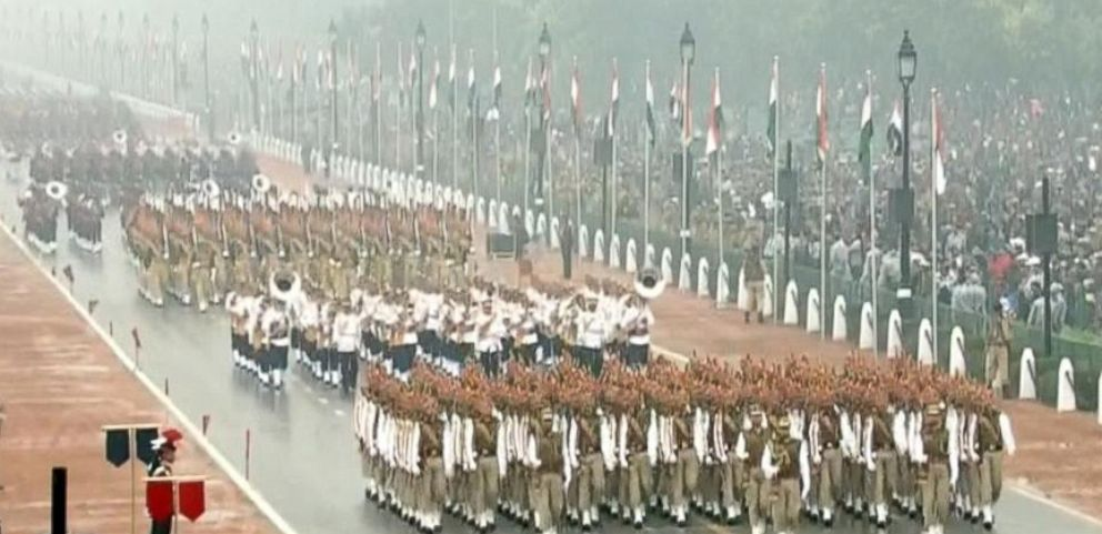 VIDEO: President Obama attends India's Republic Day Parade.