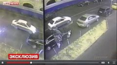 VIDEO: Cameras Capture Possible Getaway Car in Boris Nemtsov Murder