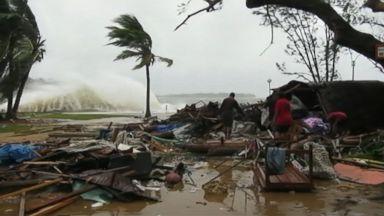 'Monster' Cyclone Strikes Heavy Toll in Vanuatu