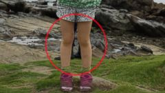 VIDEO: A mysterious pair of boots is visible in a photograph of Martin Springalls 4-year-old daughter on a beach in Zushi, Japan. The photo was taken near a samurai graveyard, leading some to speculate they are the boots of a warrior ghost.