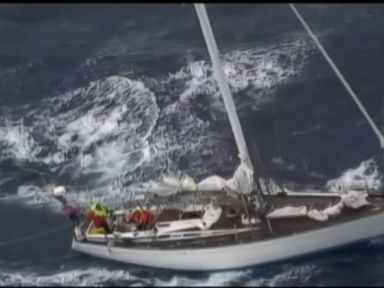 Watch:  Dramatic Sea Rescue Saves a Dozen Lives