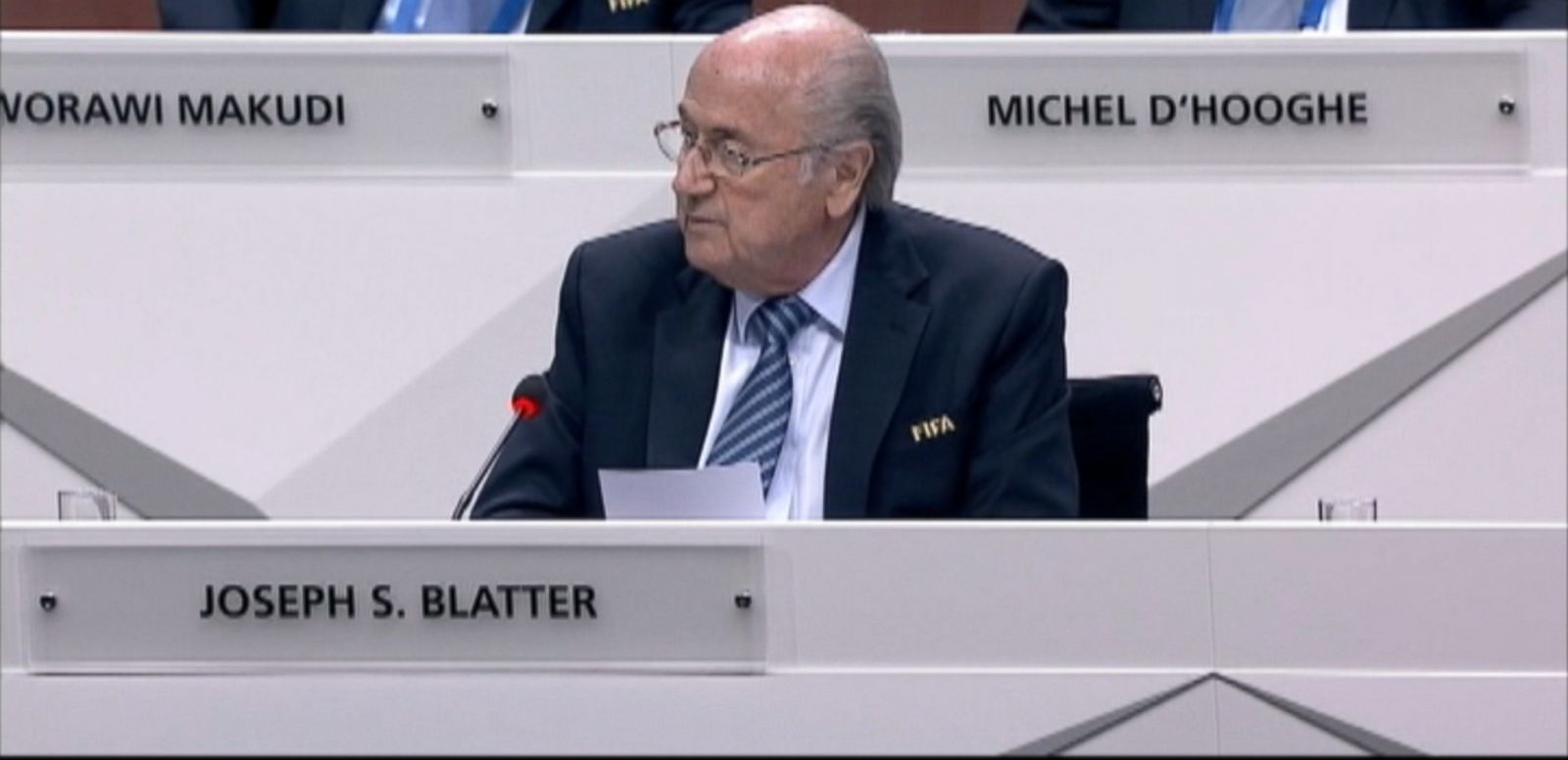 VIDEO: Judgment Day for Sepp Blatter