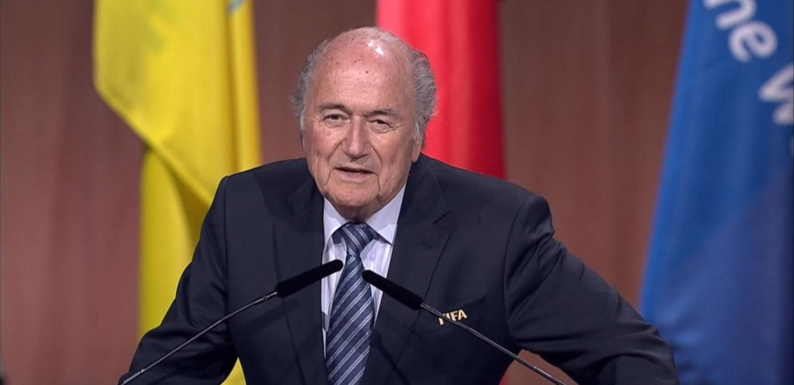 VIDEO: Sepp Blatter, the embattled of soccer's FIFA, was re-elected to a fifth term as president, despite the corruption scandal surrounding the organization.