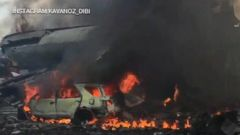 Indonesian Military Plane Crashes in Residential Area